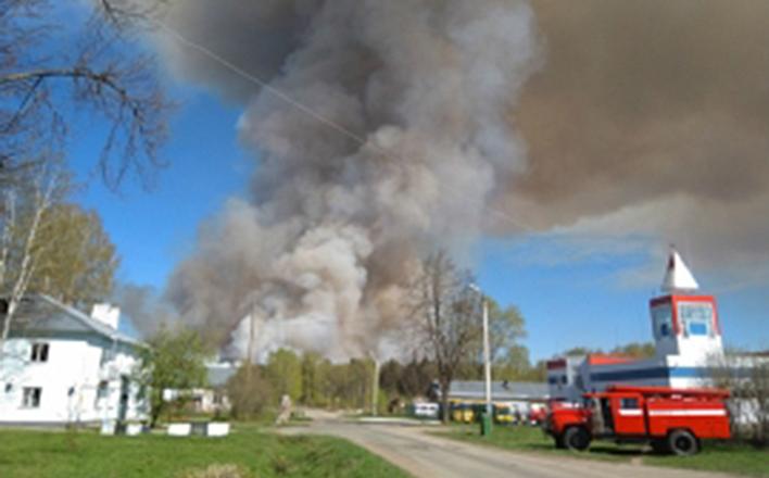 На полигоне в Пугачёво вновь начали рваться снаряды
