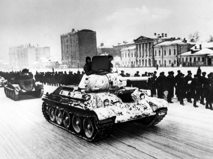 73 года назад Красная Армия перешла в контрнаступление под Москвой Контрнаступление под Москвой  (05.12.1941-07.01.1942 г.)