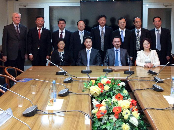 Состоялась встреча Секретаря ЦК КПРФ М.С.Кострикова с делегацией из КНР