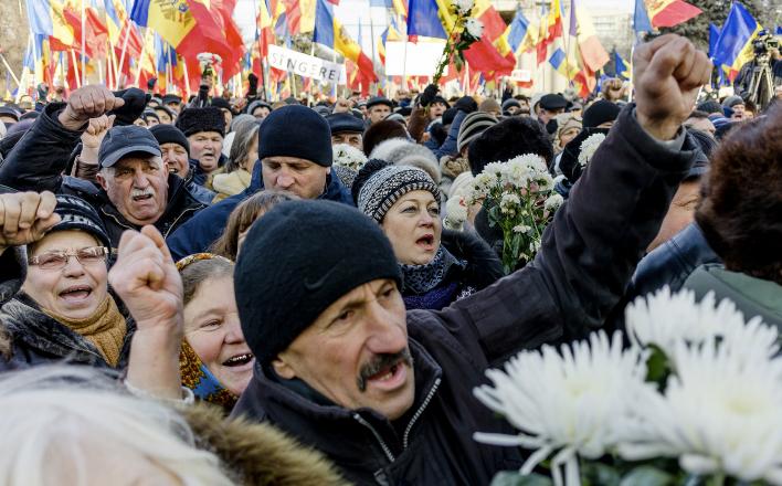 Обстановка в Молдавии обострилась до предела