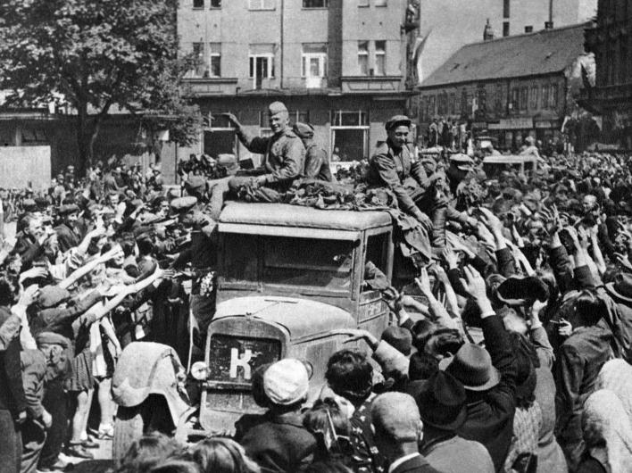 70-лет освобождению Праги от нацистов