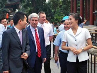 И.И. Мельников посетил Китайскую народную Республику