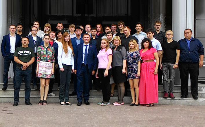 Ю.В. Афонин: «Комсомол – источник кадров для партии»