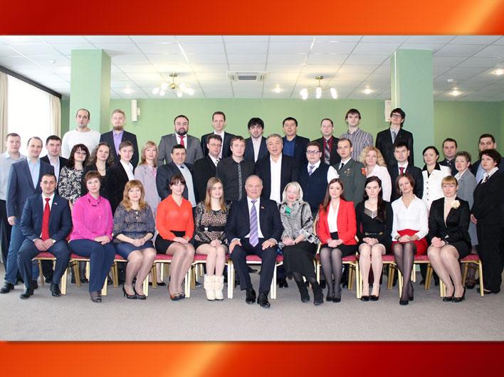 Г.А. Зюганов выступил с лекцией перед слушателями Центра политической учёбы