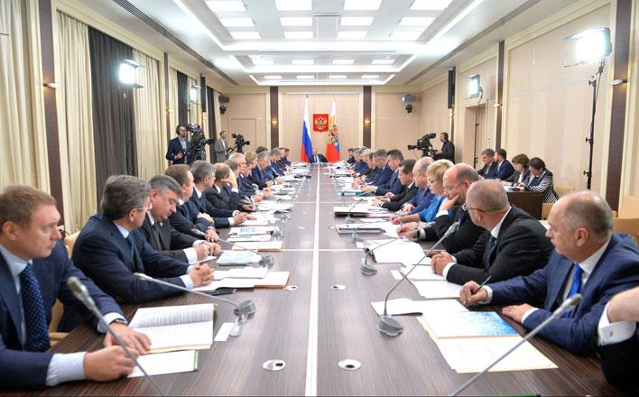 Академик В.И.Кашин выступил на заседание президиума Госсовета по вопросам развития рыбохозяйственного комплекса