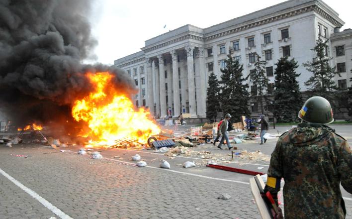 В деле о трагедии 2 мая в Одессе обнаружен след химического оружия