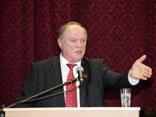 Заключительное слово Зюганова Г.А. на II Всероссийском съезде представителей трудовых коллективов
