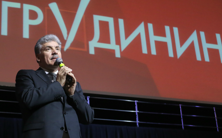Жириновский больше всех боится, что Грудинин победит на выборах