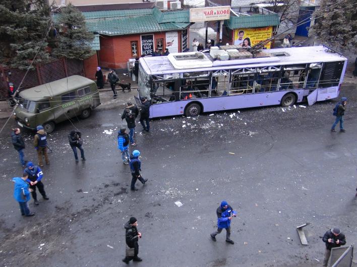 Донецк. Чудовищное преступление фашистов, увы, не последнее