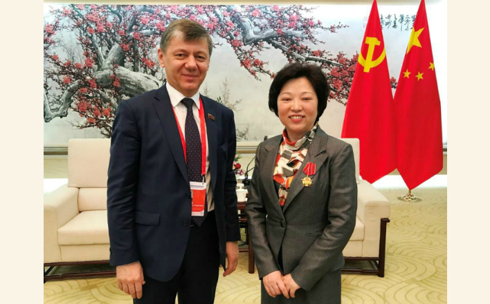 Д.Г. Новиков начал поездку в Пекин
