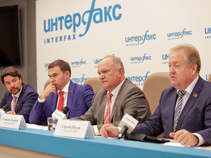 Геннадий Зюганов о переносе выборов в Госдуму: «Власть боится ответственности перед избирателями»