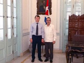 Д.Г. Новиков провел серию встреч в Республике Куба