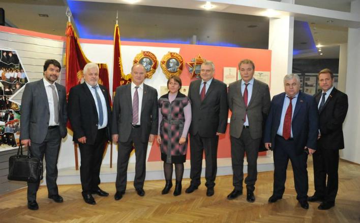 Г.А. Зюганов находится с рабочим визитом в Республике Беларусь