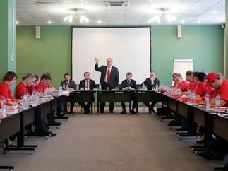Г.А. Зюганов выступил с лекцией в Центре политической учебы