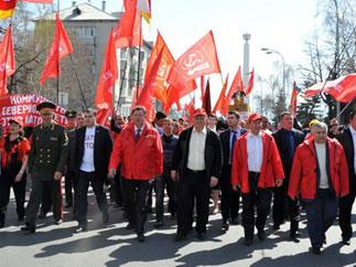 Нет базам НАТО в России! Г.А.Зюганов принял участие в многотысячном митинге в городе Ульяновске
