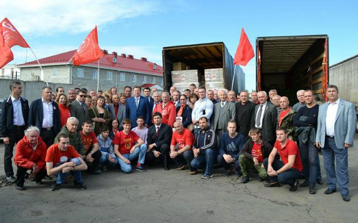 В.И. Кашин: Поддержим братскую Украину в ее борьбе с фашизмом и бандеровщиной!