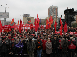 В Москве прошли массовые акции, посвященные 20-ой годовщине трагических событий 1993 года