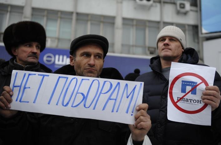 Дальнобойщики объявили всеобщую забастовку