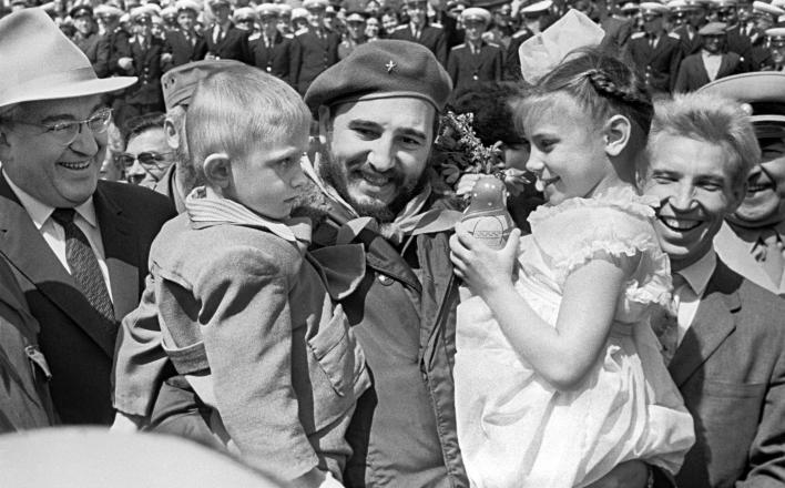 В Крыму появится памятник Фиделю Кастро