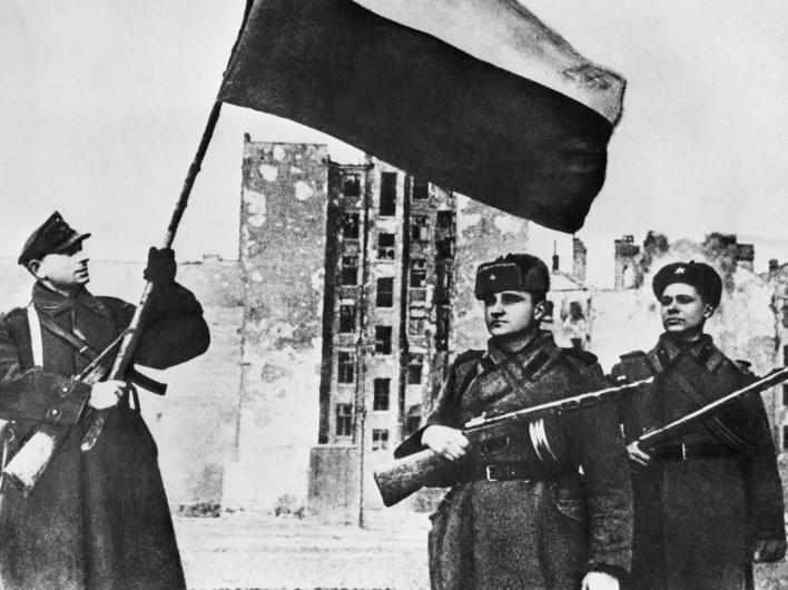 70-я годовщина со дня освобождения Варшавы от нацистов