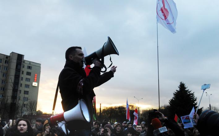 Белоруссию пытаются майданизировать