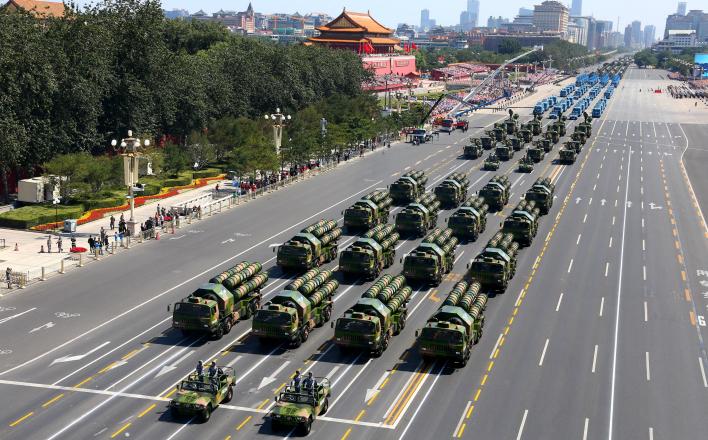 В Пекине прошёл парад в ознаменование 70-летия победы во Второй мировой войне и освобождения от японских захватчиков