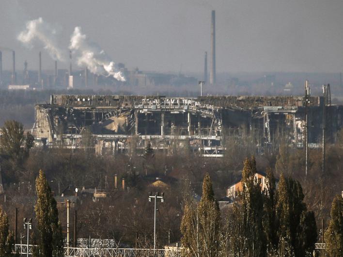 Украинских силовиков выдавливают из донецкого аэропорта