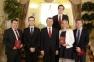 Вручение дипломов выпускникам 22-го потока Центра политической учебы (30.06.17)