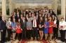 Вручение дипломов выпускникам 20-го потока Центра Политической Учебы