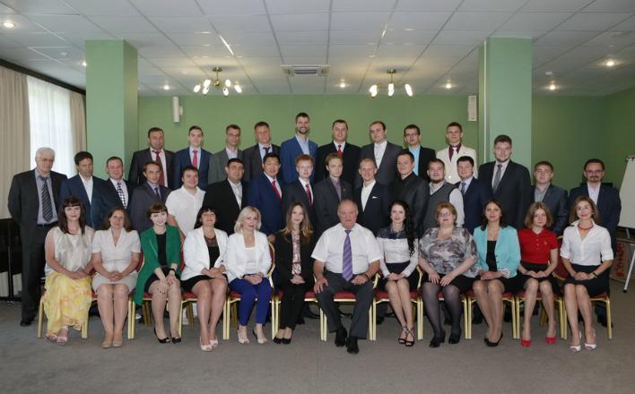 Г.А. Зюганов провел встречу со слушателями Центра политической учебы