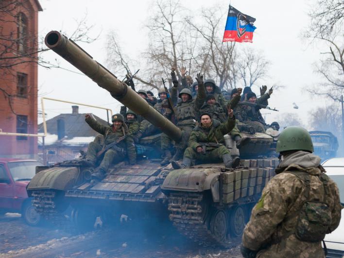 Война на Донбассе выходит на новый виток