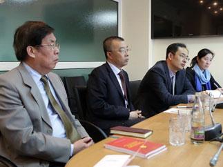 Встреча с делегацией Международного отдела ЦК КПК