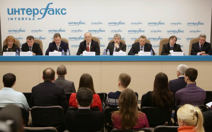 Г.А.Зюганов: «Пришло время вытаскивать страну из омута»