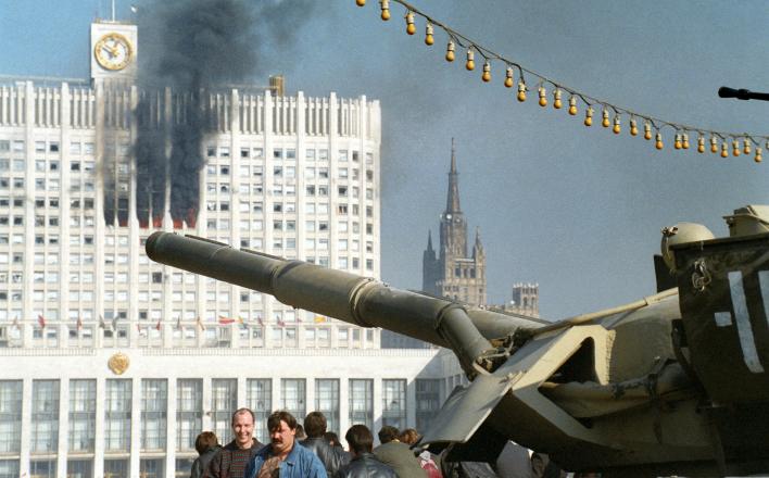 Призывы и лозунги к Всероссийской акции памяти расстрела Верховного Совета 3-4 октября 1993 года