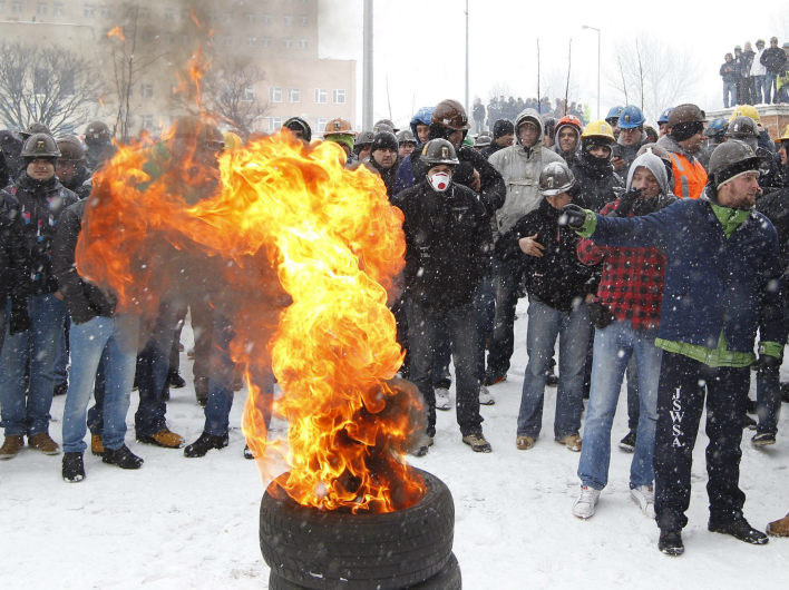 В Польше разгораются социальные протесты