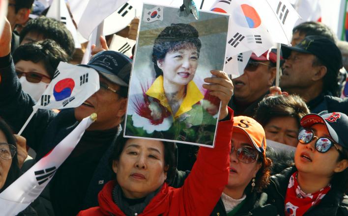В Южной Корее импичмент