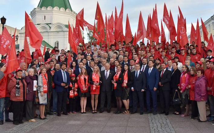 Г.А. Зюганов: «Нижегородская область - одна из главных кузниц страны»
