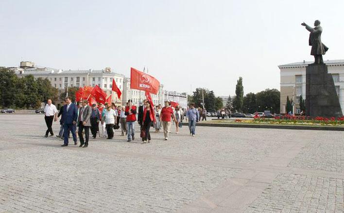 Рабочий визит в Воронеж заместителя Председателя ЦК КПРФ В.И.Кашина