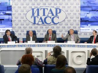 Презентация книги «Геннадий Зюганов» в ИТАР-ТАСС