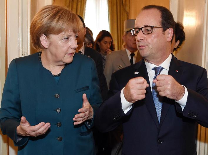 Европа почувствовала жар «холодной войны»