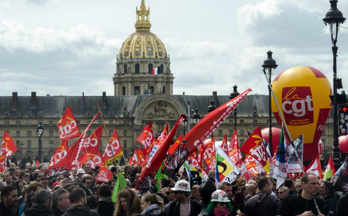 Французские «левые» против трудовой реформы Олланда