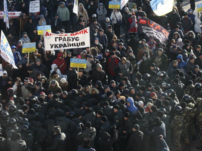 В Киеве запахло восстанием