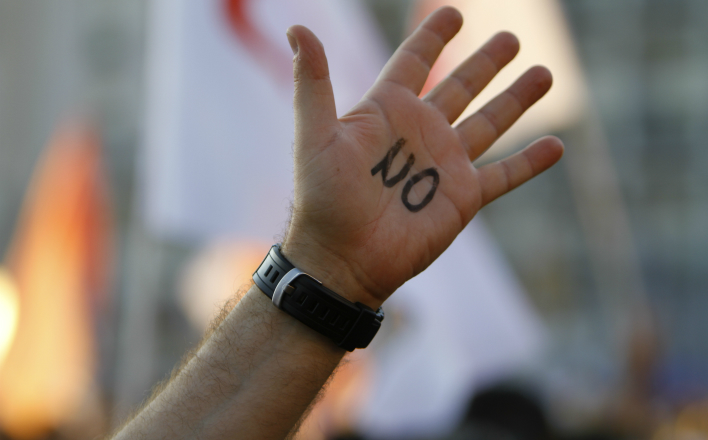 СМИ замалчивают протест в Черногории