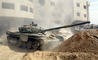 Сирийский фронт. Идет борьба за воду
