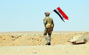 Сирийская армия ведет борьбу за Дейр-эз-Зор
