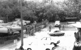 Октябрь 1993-го: первая кровь