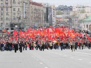 Первомай в Москве