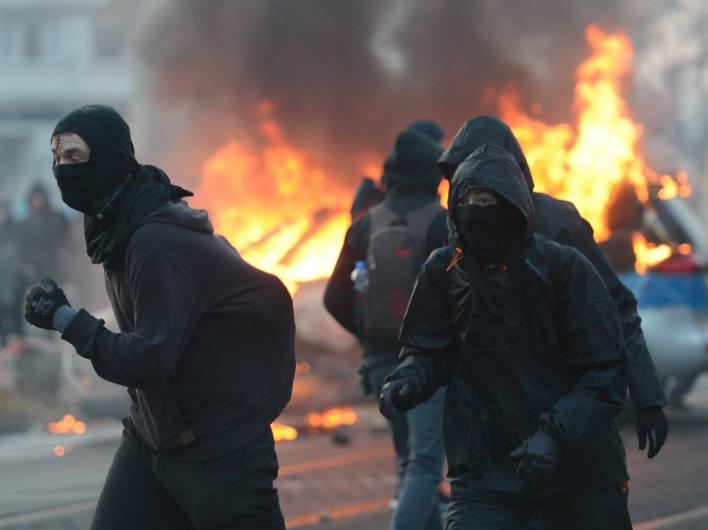Тыл НАТО в огне