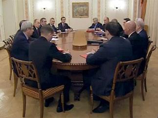Г.А.Зюганов – В.В.Путину: Без левого поворота в политике мы не справимся с проблемами, которые накатываются на Россию