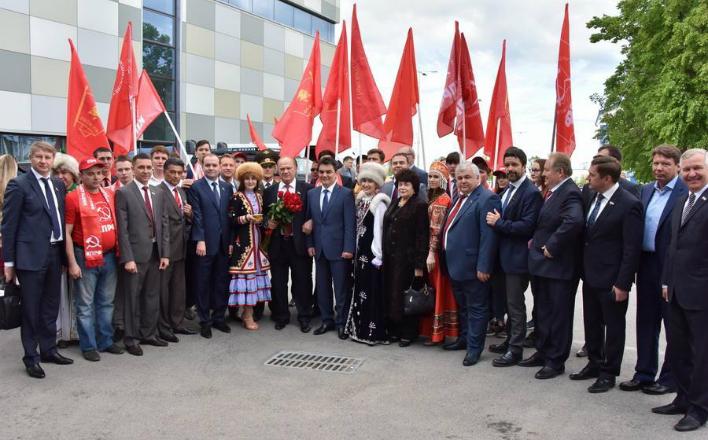 Начался рабочий визит Г.А. Зюганова в Республику Башкортостан